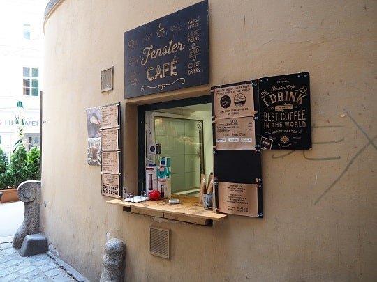 Fenster Café, Café, Wien, Highlight