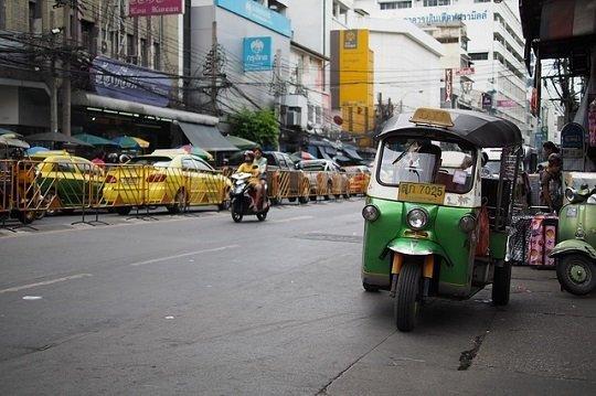 TukTuk, Taxi, Reisen, feilschen, Märkte, verhandeln