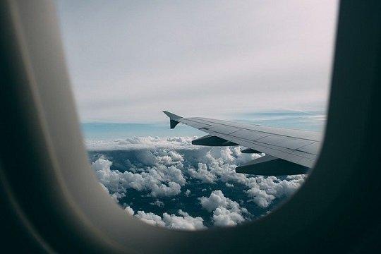 Flugzeug, Flugangst, Reisen, Fernweh