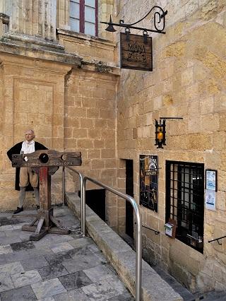 Mdina Dungeon, Malta, Reisen