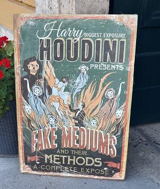 Houdini Museum, reisen, alleine reisen als Frau, Budapest, Städtetrip