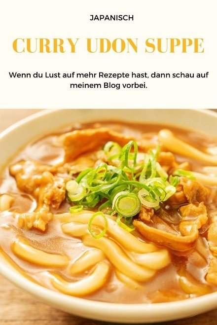 Udon Curry Suppe, Rezept, reisen, Kulinarik, kochen
